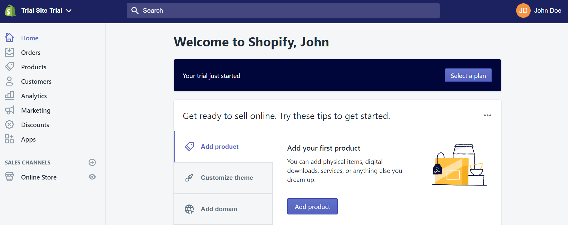 Welcome to Shopify