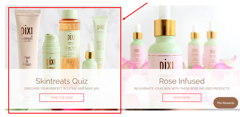 Pixi Beauty quiz