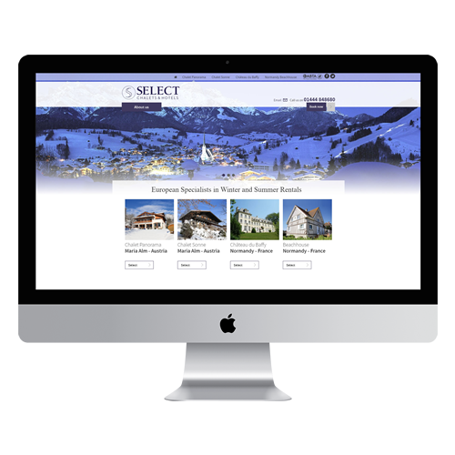 Select Chalets & Hotels Joomla Template