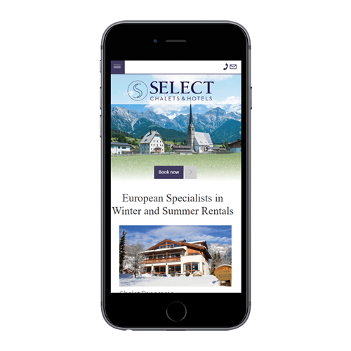 Select Chalets & Hotels mobile